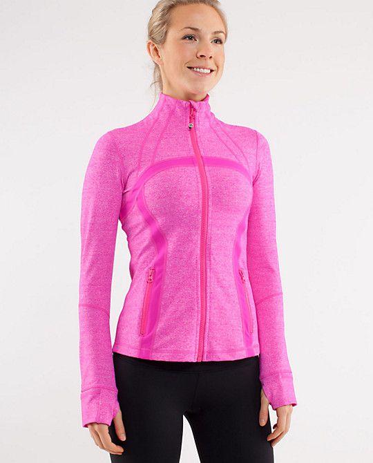 love lululemon paris pink jacket
