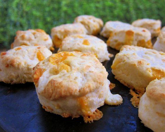 Cheddar Cream Biscuits   Plain Chicken