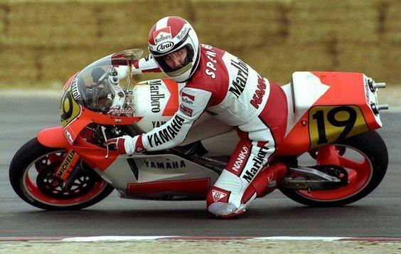 Spencer Yamaha yzr 500cc 89