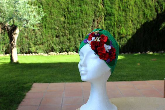 Turbante. WEDDING. Invitada. Carmen Vivar chapeau.