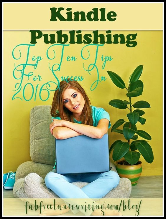 Make Kindle publishing part of your writing program in 2016. If you can write, you can become a Kindle author. Develop your own publishing schedule now.