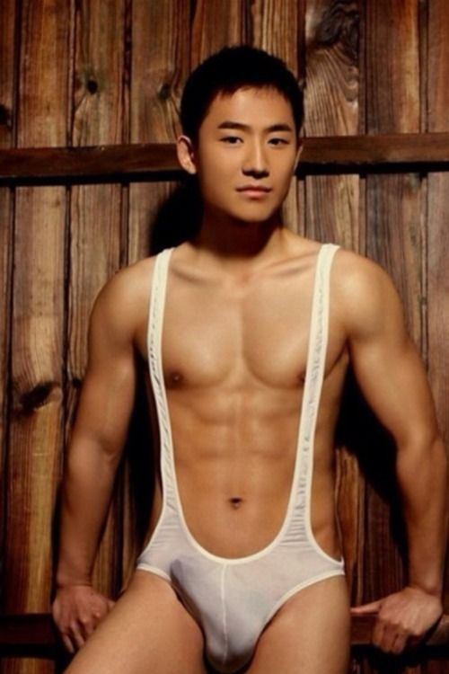 Asian handsome nude — photo 13