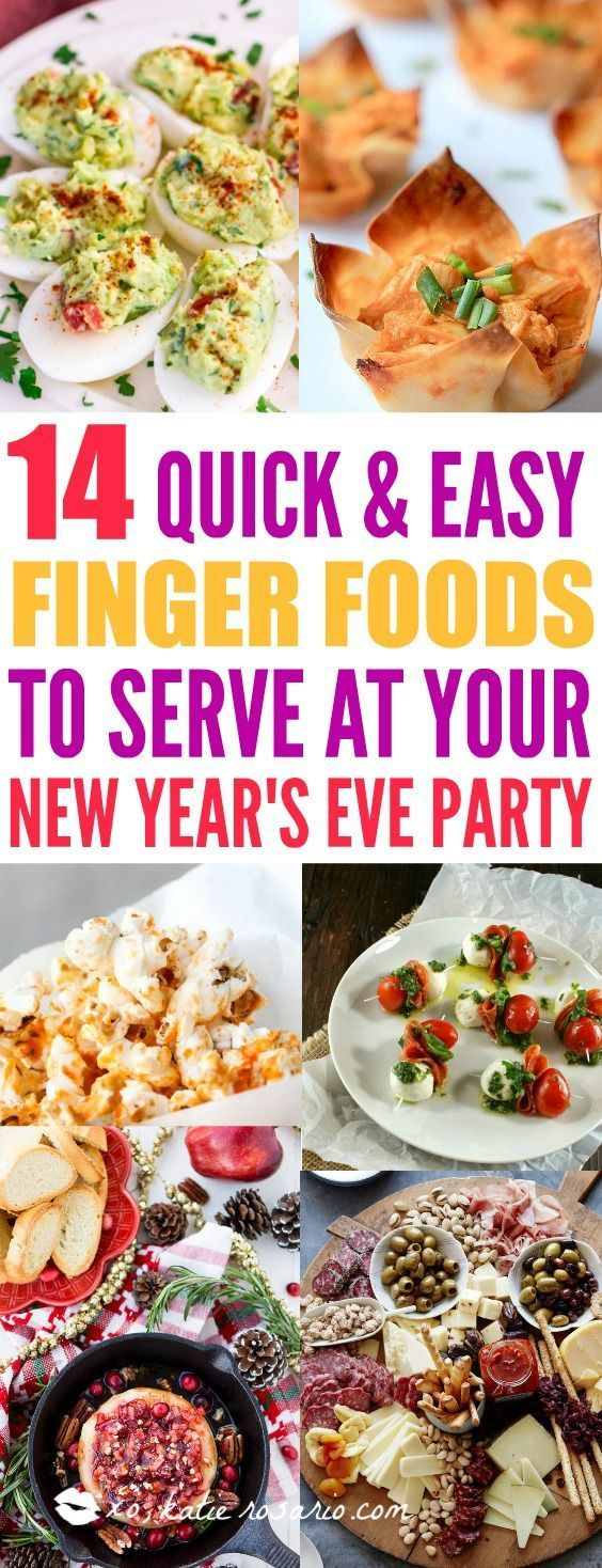 14 New Year's Eve Party Appetizers You Want And Need - XO, Katie Rosario