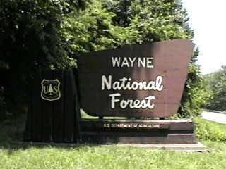 Wayne National Forest Campgrounds