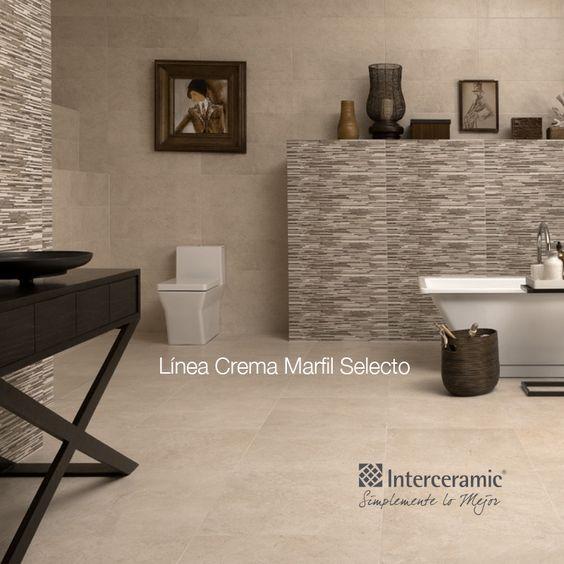 La combinaci n de piso y pared ideal para tu ba o ba os - Combinacion de colores para paredes de banos ...
