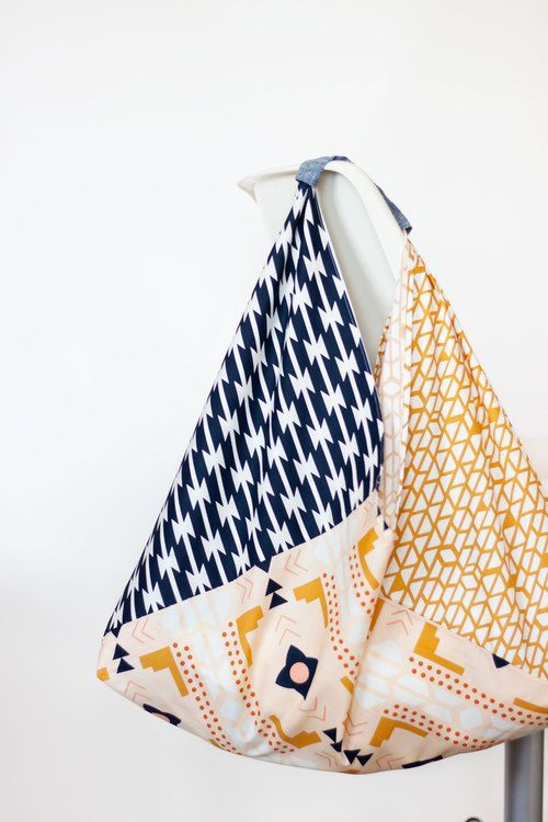sac cabas couture triangle