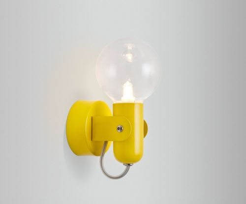 Yellow Wall Sconces : yellow wall sconce ism HD2 / W Light Pinterest Lamps, Wall sconces and Kid