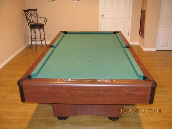 C l bailey billiards addison pool table 3 piece 1 39 thick for 1 slate pool table