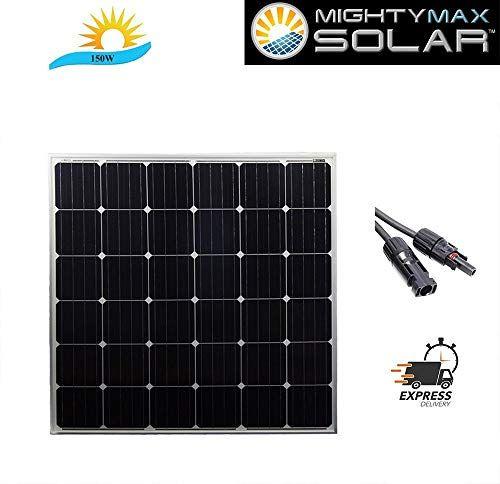 Mighty Max Battery 150 Watt Monocrystaline Solar Panel Br Https Www Amazon Com Dp B01n81cvmg Ref Cm S Off Grid Solar Panels Solar Panels Best Solar Panels