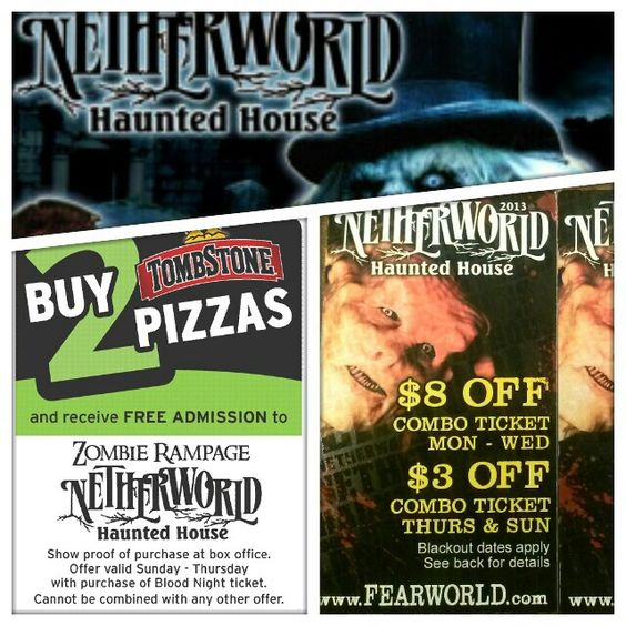Creepy world discount coupons