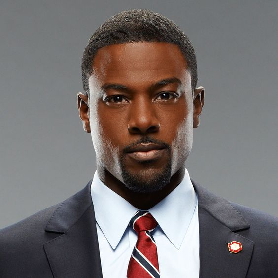 Another shot of Lance Gross - Vance in The Long Game