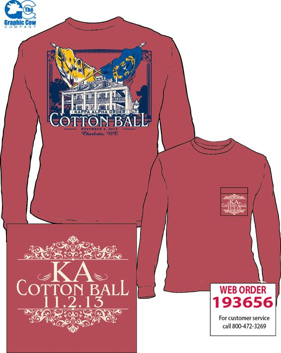 Kappa Alpha Order Cotton Ball Design Fraternity Life