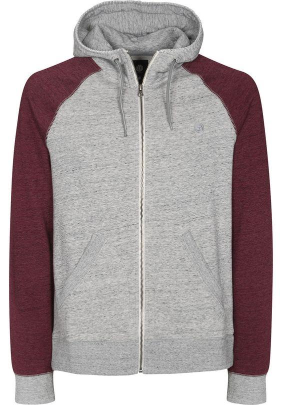 Element Meridian - titus-shop.com  #ZipHoodie #MenClothing #titus #titusskateshop