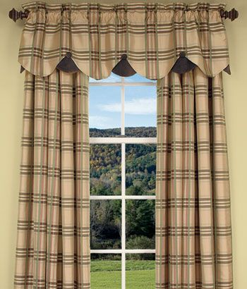 living room curtain idea from Country Curtains | country curtians ...