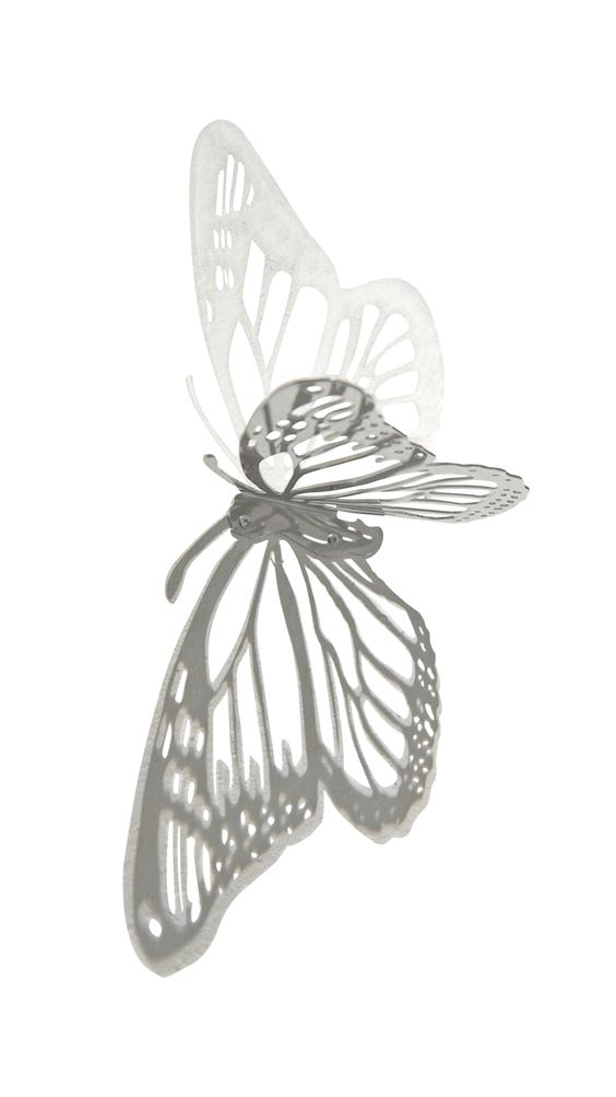 This beautiful Butterfly shelf works well for stacking books or as a decor.    Icelandic Design    Designed by Gudrun Lilja Gunnlaugsdottir    Size: 20x24x4
