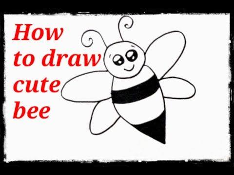رسم اطفال سهل وبسيط تعليم رسم للاطفال خطوة خطوة رسم كرتون نحلة Kids Draw Learning Step By Step Youtube Cartoon Drawings Cute Bee Cute Drawings