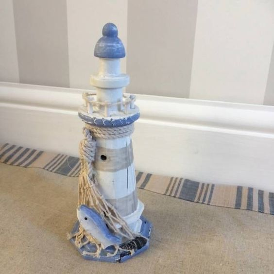 Lighthouse bathroom accessories painterly lighthouse 3 for Bathroom decor lighthouse