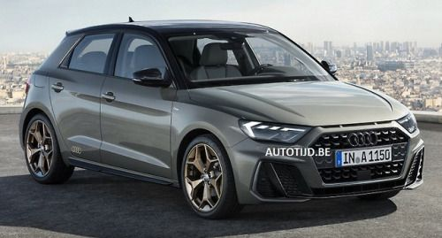 Audi A1 2019 First Image Of The New Generation Audi Hatchback