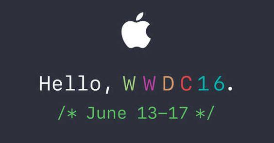 Apple confirma la WWDC 2016 donde presentará iOS 10, el nuevo Mac OS X y mucho más