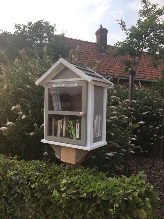 Boekenkastje Meldert Hoegaarden