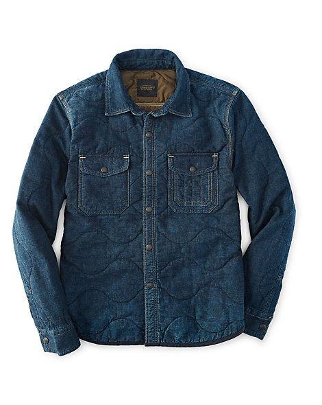 Croslin Quilted Denim Jacket - Shop All Apparel - Ralph Lauren