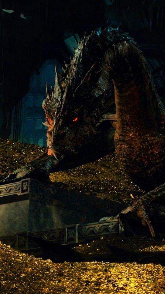Smaug Wallpaper Lord Of The Rings Smaug Dragon The Hobbit
