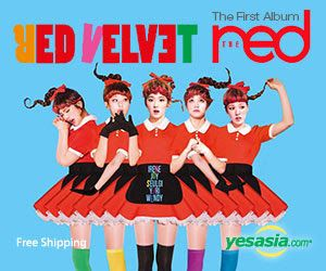 #RedVelvet Vol. 1 - The Red #kpop -- Click on the pic to order now~