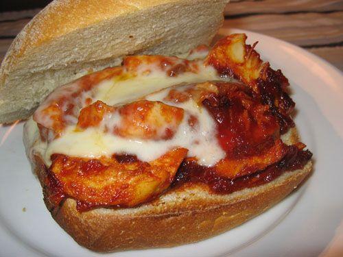 Honey-Chipotle Barbecue Chicken Sandwich