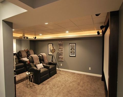 Decorating Your Home Theater On A Budget Small Home Theaters