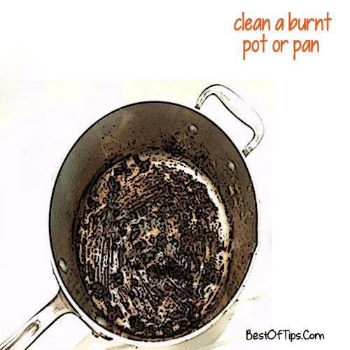 Cleaning burned pots and pans is not an easy task. Say good riddance to grease and grime with these cleaning tricks.  Don't have a tough scrub pad? Cr...