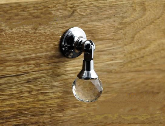 new shabby dresser drop knobs clear crystal cabinet