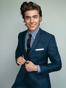 blue suit checkered shirt | Wedding & Events | Pinterest | Shirts