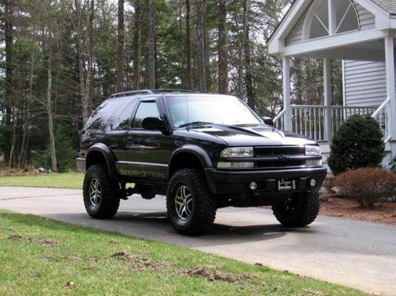 2000 Chevrolet Blazer ZR2 with ZR5 Rims