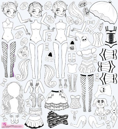 Mona Melisa Designs Color Me Peel and Play Wall Decorative Stickers, Monster Girl for only $24.63 You save: $20.37 (45%)
