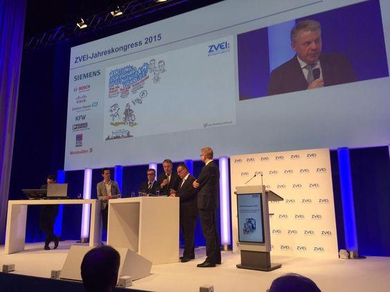 #ABB Deutschland-Chef Krabbe: Wir lernen von den 'digital natives'. Das macht unsere Technologien effizient #zvei15