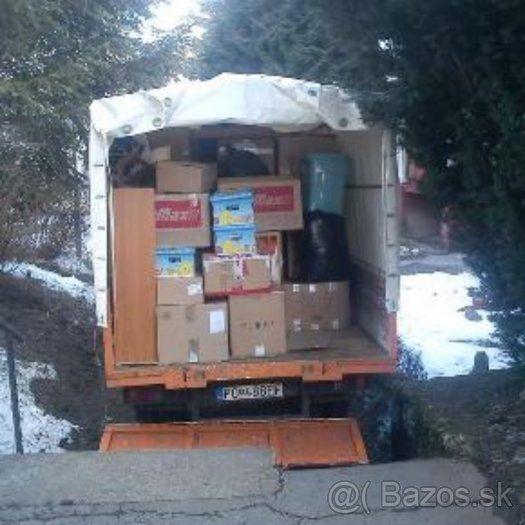 Sťahovanie autodoprava Prešov + okolie - 1