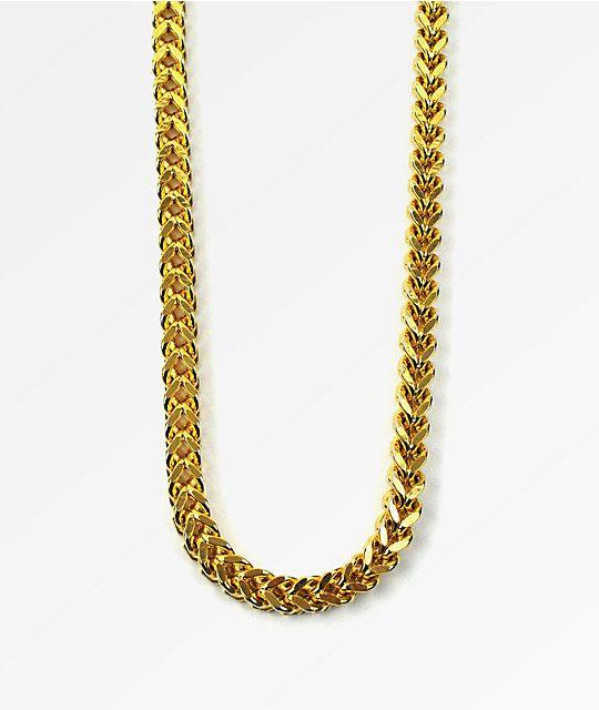 gold chain box design - Google Search | Chain necklace, Chain ...