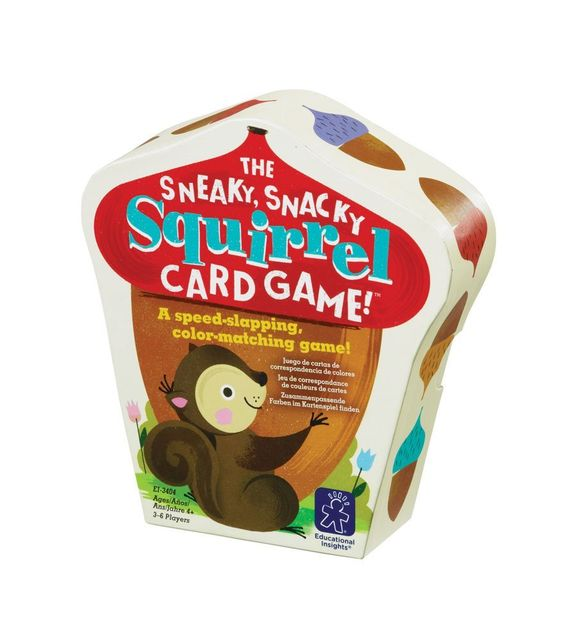 THE SNEAKY SNACKY SQUIRREL CARD GAME