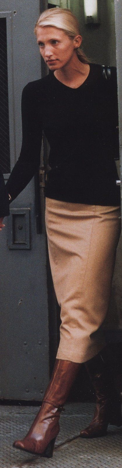 Carolyn Bessette Kennedy...she had such great style.