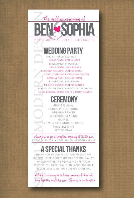 sample wedding timeline - fototango - wedding program inclusions
