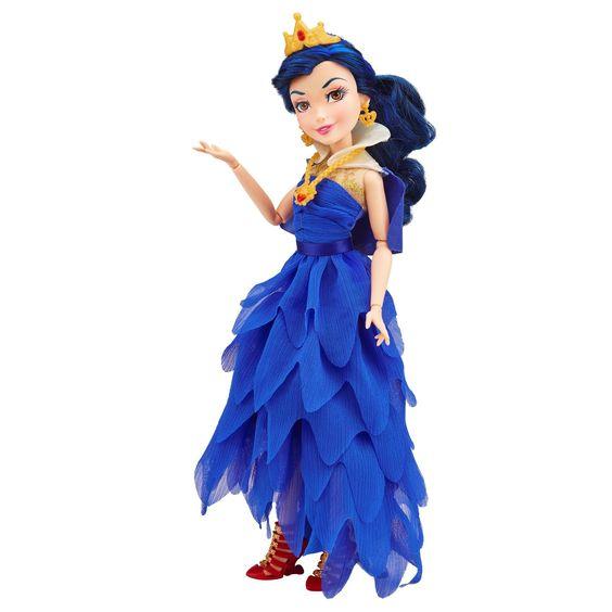Amazon.com: Disney Descendants Coronation Evie Isle of the Lost Doll: Toys & Games