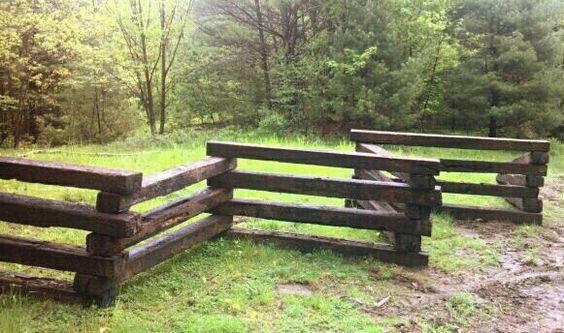 Railroad Tie Fence Gardening Pinterest Railroad Ties
