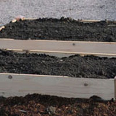 Raised beds beds and squares on pinterest for Soil volume calculator