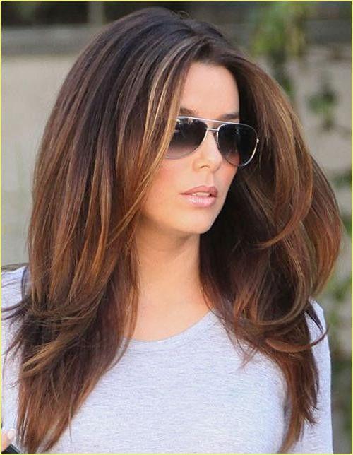 Wilde Frisuren Lange Haare Haarschnitt Frauen Lang