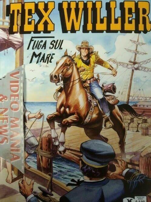 TEX WILLER 19 FUGA SUL MARE.SERGIO BONELLI EDITORE -SPEDIZ. CORRIERE