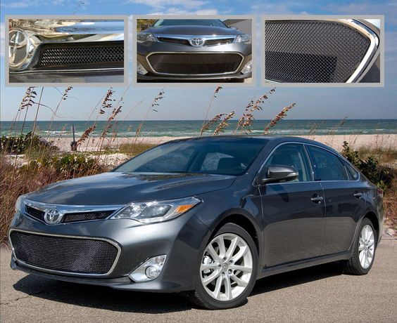 2013 Toyota Avalon Stainless Steel 3PC Black Ice Fine Mesh Style Grille. Call for part number: 1080-B102-13