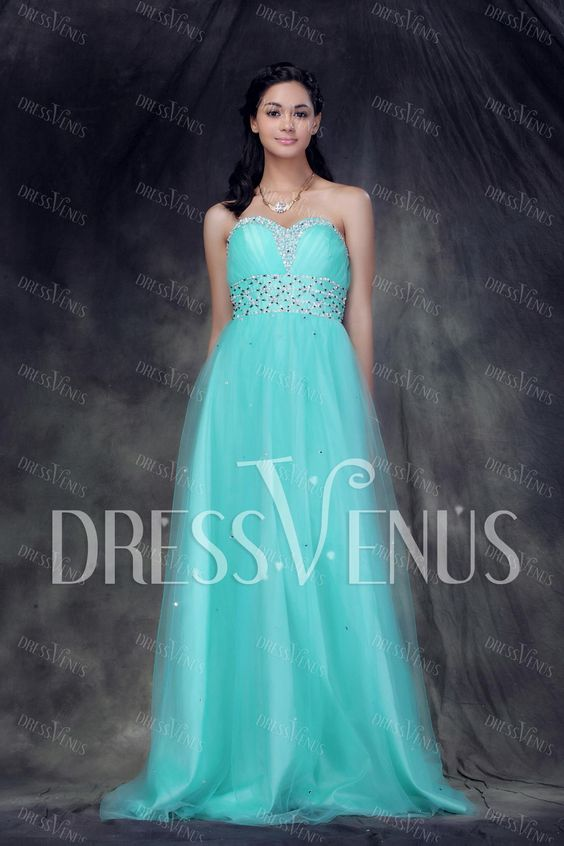 Graceful Sweetheart Floor-Length Anderae's Prom/Ball Gown Dress