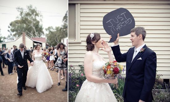 Rachel And Phillip S Quirky Country Wedding Pictures