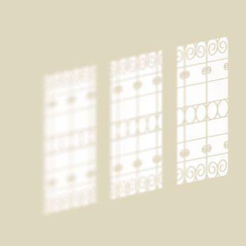 Luci e Ombre recrée sur le mur des fenêtres imaginaires pour apporter plus de lumière aux espaces | design Lago
