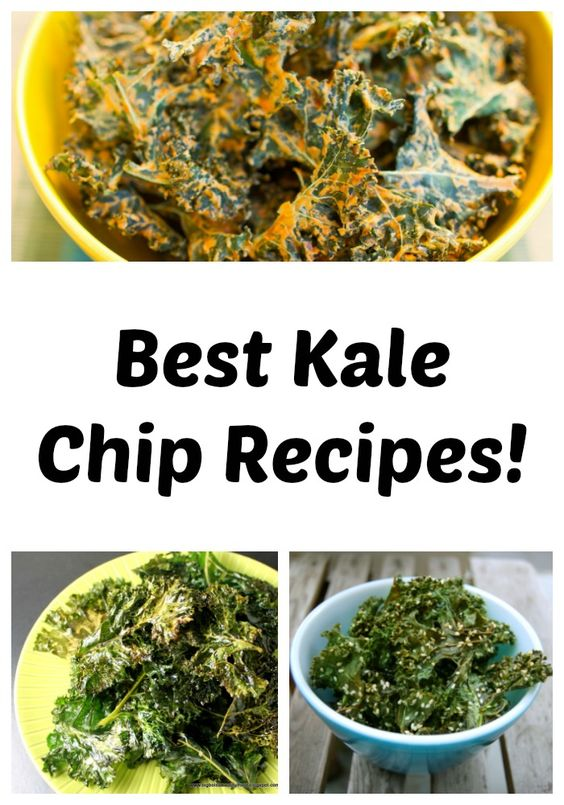 Best Kale Chip Recipes - Pin on Pinterest